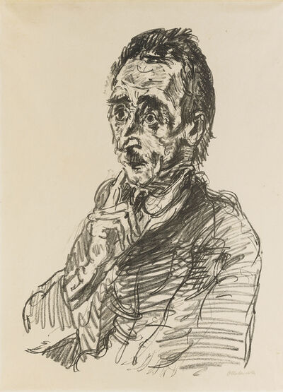 Oskar Kokoschka, 'Ivar von Lucken'