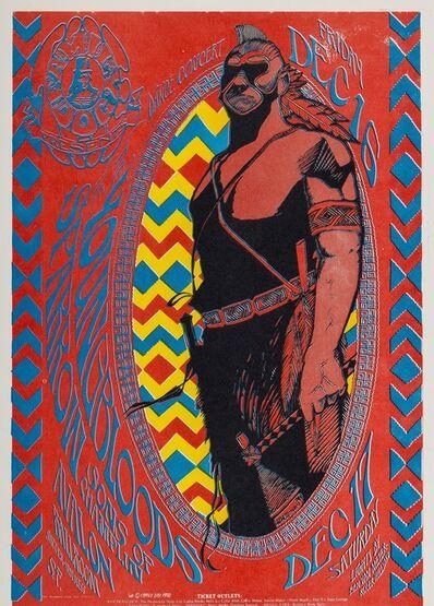 Stanley Mouse, 'Young Bloods: a U.S. concert handbill', 1966