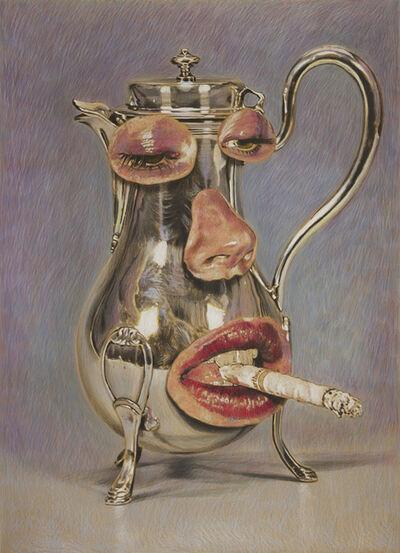 Eric Yahnker, 'Smoking Teapot', 2020