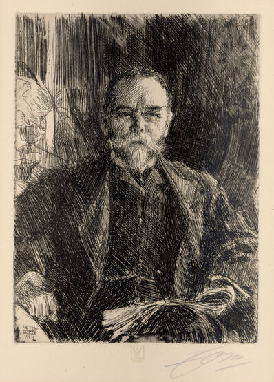 Anders Leonard Zorn, 'John Hay, Secretary of State', 1904