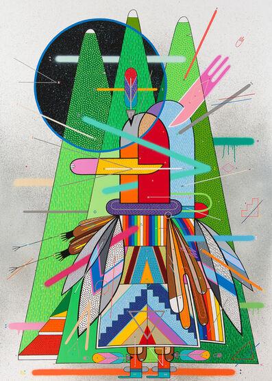 Sixe Paredes, 'El espíritu de la montaña#1', 2015