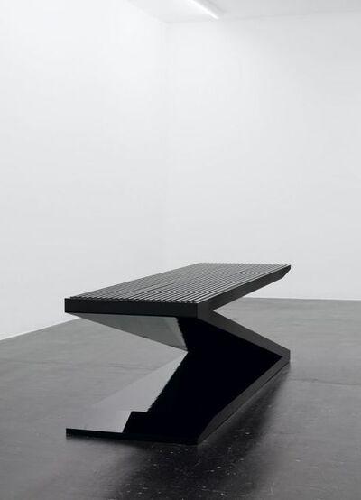 Ingvar Cronhammar, 'Park Bench IV', 2007