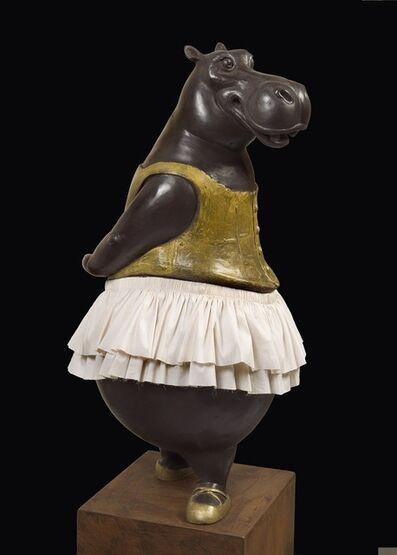 Bjorn Skaarup, 'Hippo Ballerina, fourth position', 2015