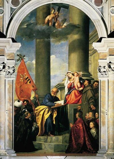 Titian, 'Pesaro Madonna', 1519-1526