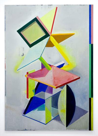 Genti Korini, 'Simulation on the axes 1', 2020