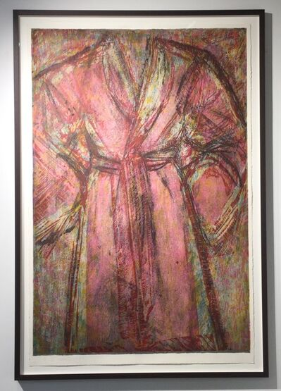 Jim Dine, 'Rosy Robe', 1998