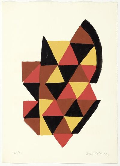 Sonia Delaunay, 'From: Ryhtmes-Couleurs', 1966