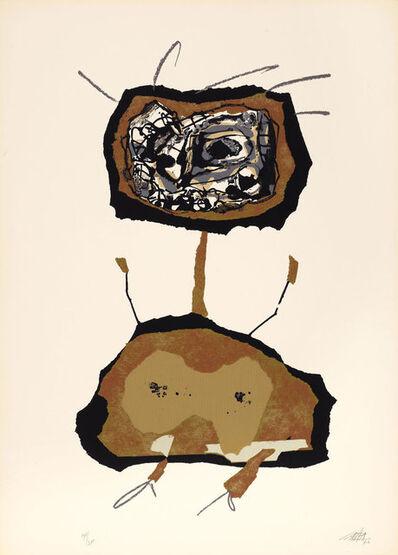 Antonio Saura, 'Dama en tecnicolor II', 1970