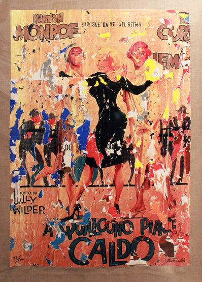 Mimmo Rotella, 'A Qualcuno Piace Caldo', 2002