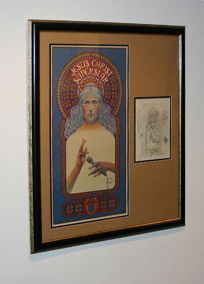 "David Edward Byrd, '""Jesus Christ Superstar Original 1971 drawing""', 1971"