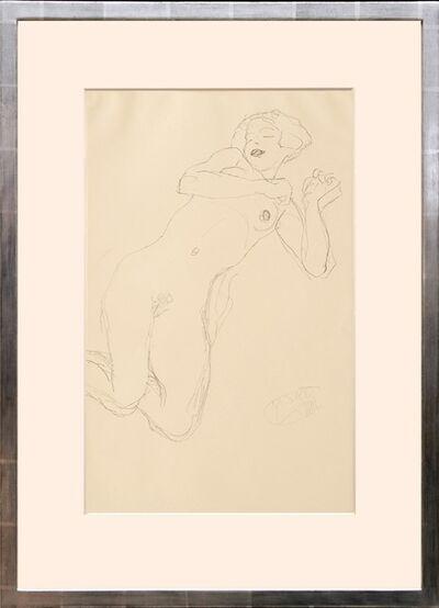 """Gustav Klimt, 'Studie zur """"Jungfrau"""". (Study of the """"Virgin"""".)', 1919"""