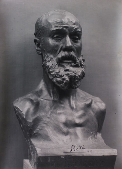 Jacques-Ernest Bulloz, 'Buste de Jean-Paul Laurens (Bust of Jean-Paul Laurens) ', 1903-1917