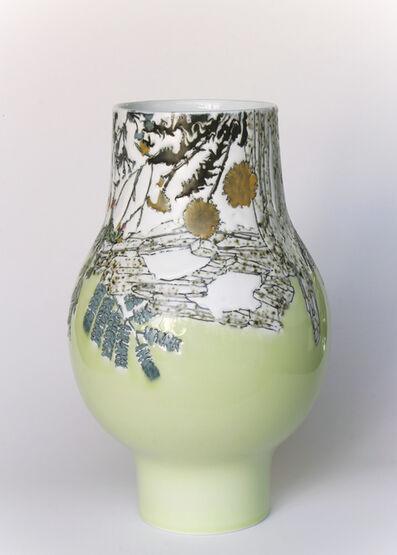 Future Retrieval, 'Neon Green Globe Vase 4', 2018