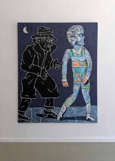 Carmen Cicero, 'Footsteps in the Dark', 1981