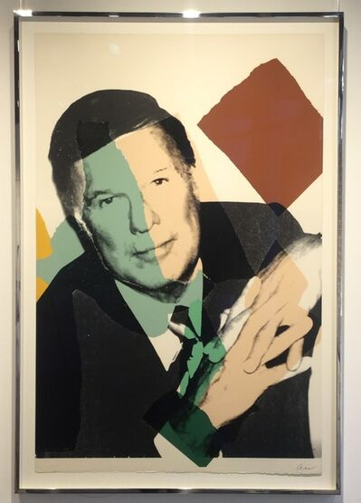 Andy Warhol, 'Frederick Weisman (very rare, edition of just 10)', 1975