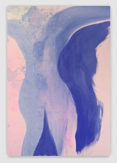 Rita Ackermann, 'Turning Air Blue III', 2017
