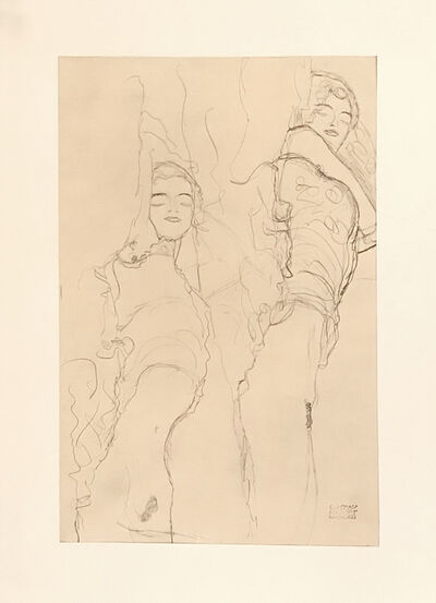 Gustav Klimt, 'Untitled II.IV', 1964