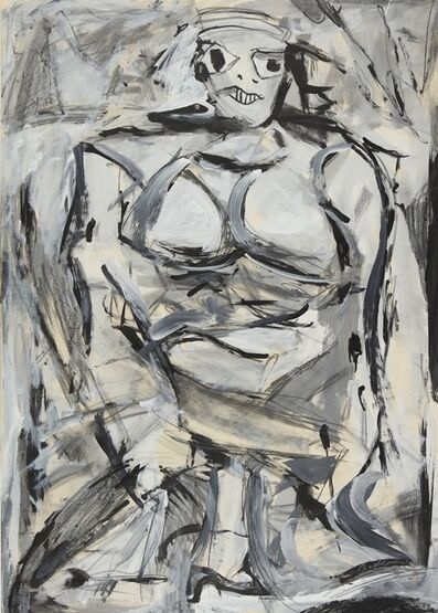 Mike Bidlo, 'Not de Kooning', 1984