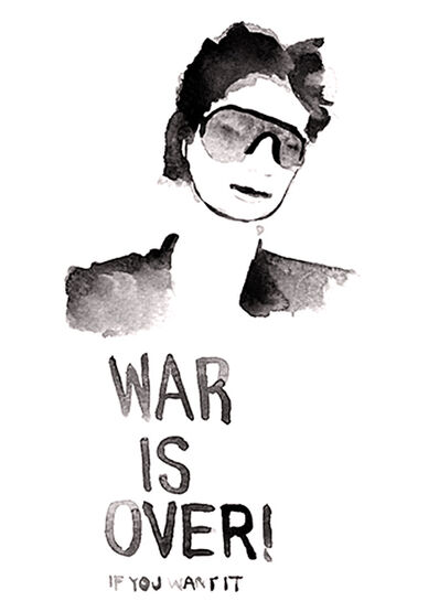 Dale Dreiling, 'Yoko Ono', 2010