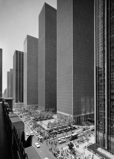 Ezra Stoller, 'Exxon Building on Sixth Avenue, Harrison and Abramovitz, New York, NY', 1974