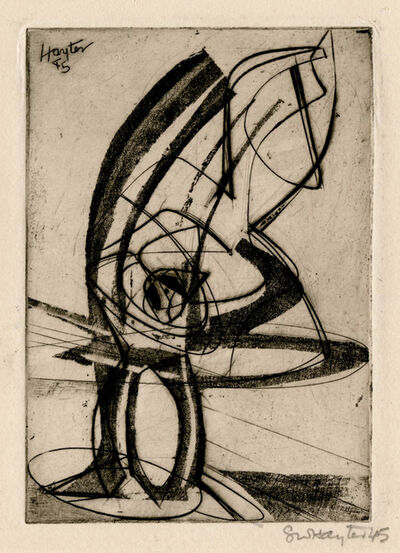 Stanley William Hayter, 'Greeting Card for 1945-6 ', 1945