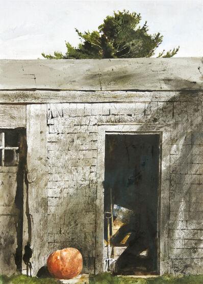 Andrew Wyeth, 'Maine Door', 1970