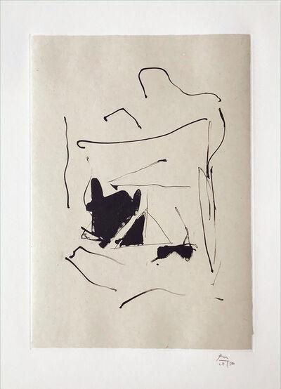 Robert Motherwell, 'Burnt Water', 1987