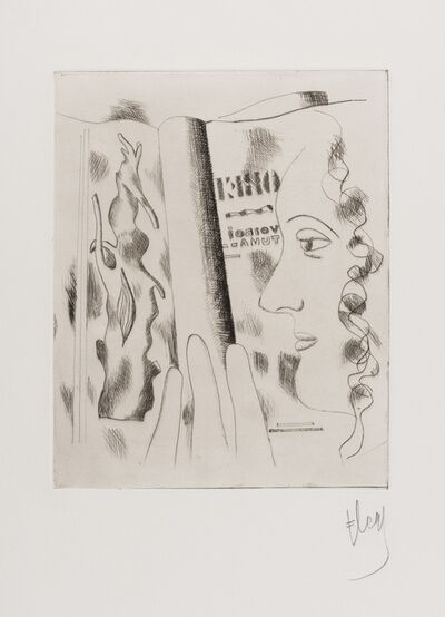 Fernand Léger, 'Profil de Femme (Saphire 14)', 1931