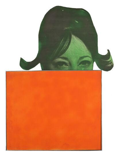 Martial Raysse, 'La France orange ', 1963