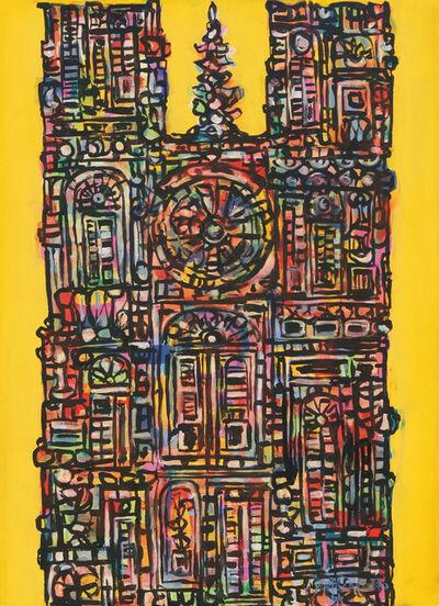 René Portocarrero, 'Cathedral in Yellow (Catedral en Amarillo)', 1961