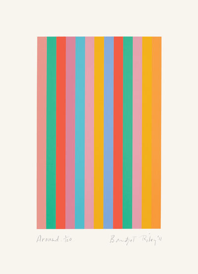 Bridget Riley, 'Around', 2011