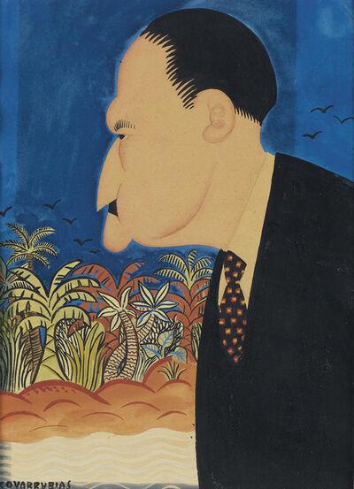 Miguel Covarrubias, 'Portrait of Somerset Maugham.', circa 1925