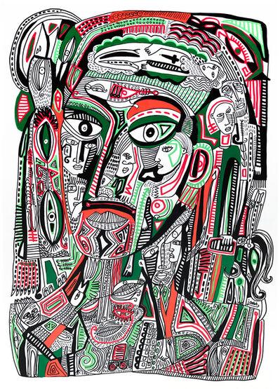 Julien Calot, 'Inside my head', 2017