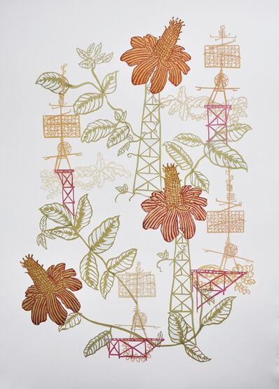 Susan Graham, 'Toile Print 5', 2014