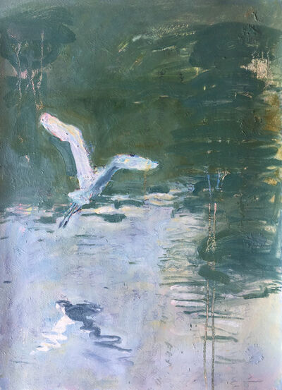 Stephen Linsteadt, 'White Crane #5', 2015