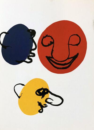 Alexander Calder, 'Alexander Calder Derrière le Miroir lithograph', ca. 1971