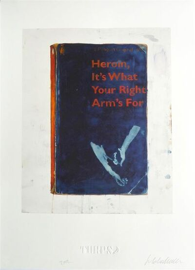 Harland Miller, 'Heroin, It's What Your Right Arm's For - Artist Proof ', 2012