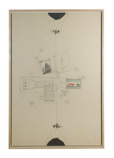 Alighiero Boetti, 'Tra Sé e Sé (Fogli e Carte Arrivate fin Qui...)', 1987
