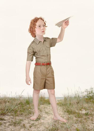 Loretta Lux, 'The Paper Airplane', 2004