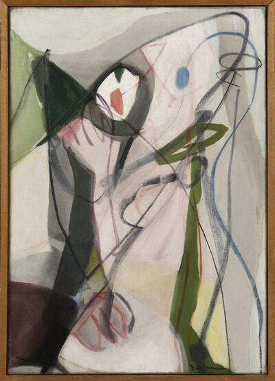 Eugène De Kermadec, 'Femme sur le mode bruyant', 1949