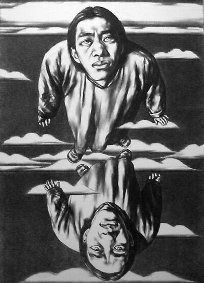 Su Xinping 苏新平, 'Weightlessness', 1994