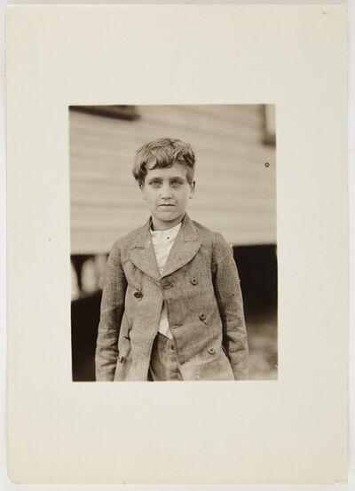 Lewis Wickes Hine, 'Jo Neal...', 1913