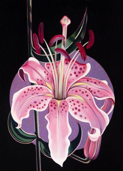 Lowell Nesbitt, 'Lilium', 1987