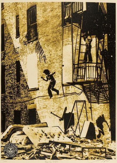 Shepard Fairey, 'Leap of Faith - Martha Cooper', 2009