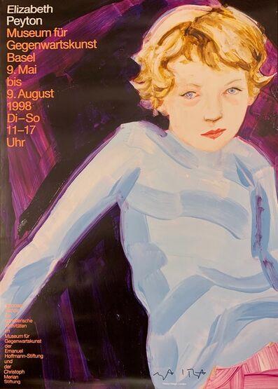 Elizabeth Peyton, 'Untitled poster (Gegenwartskunst, Basel)', 1998