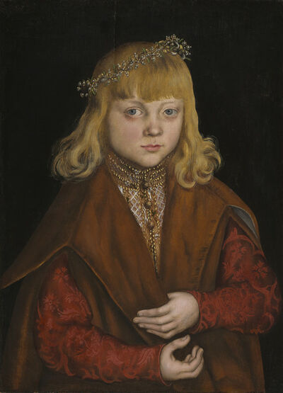 Lucas Cranach the Elder, 'A Prince of Saxony', ca. 1517