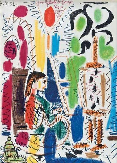 Pablo Picasso, 'L'Atelier de Cannes', 1956
