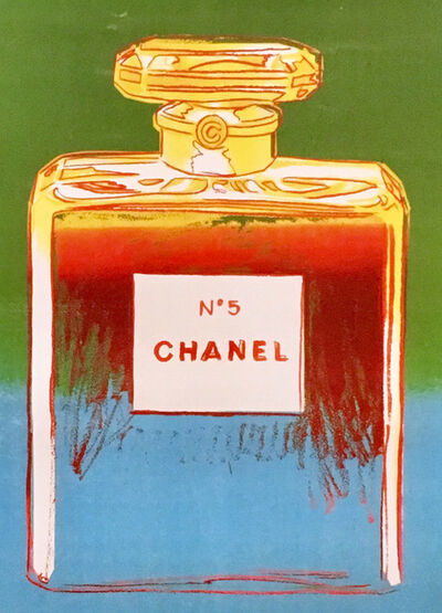 Andy Warhol, 'Chanel No. 5 Advertising Campaign Poster', 1997