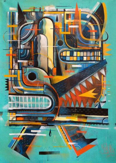 Niark1 Sebastien Feraut, 'WALKING BEAST', 2019