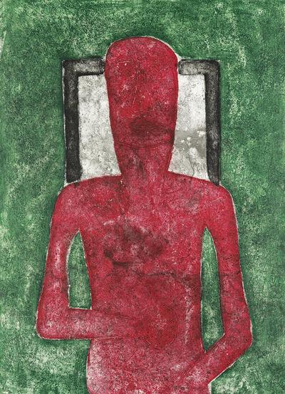 Rufino Tamayo, 'Hombre Rojo.', 1976